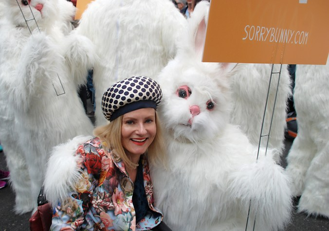Magda and Easter Bunny