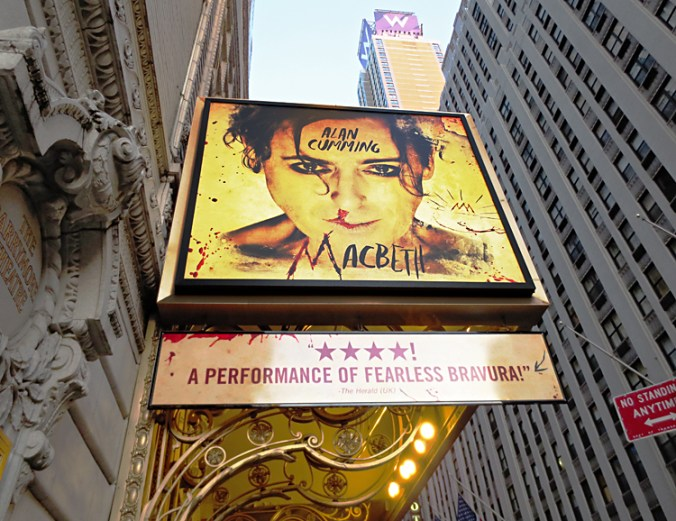 Alan Cumming Ethel Barrymore Theater Broadway NY
