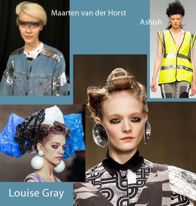 Fall 2013 Fashion Upcycled Inspiration board