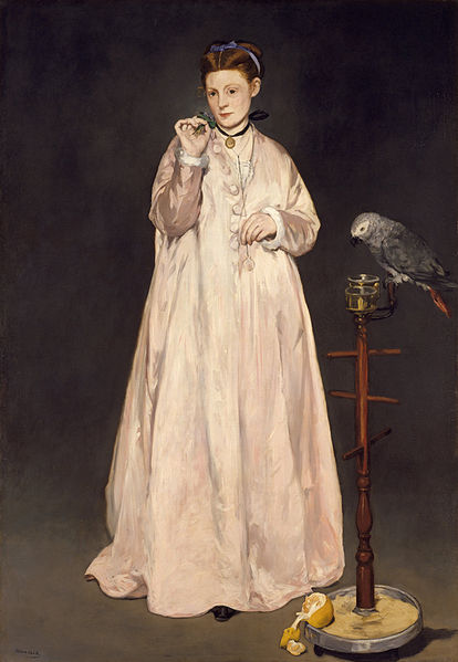 Manet's Young Lady Painting