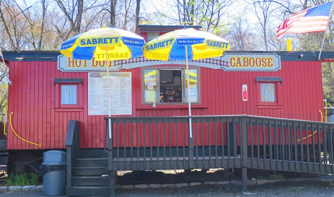Hot Dog Caboose Midland Park, NJ