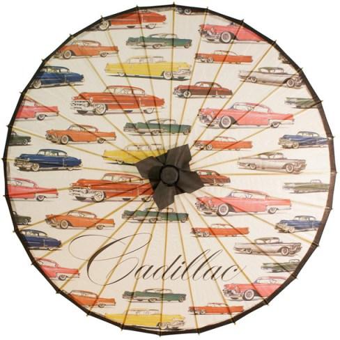 vintage-1950s-Cadillac-parasol