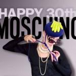 Mmmmmmm Moschino! Happy 30th Birthday!