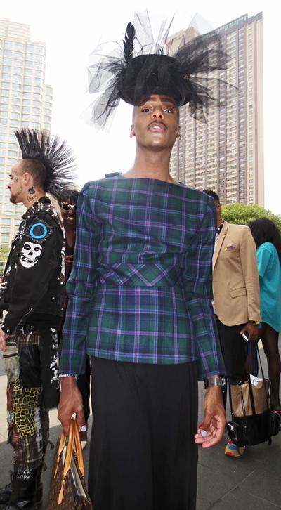NY Male street style fashion week