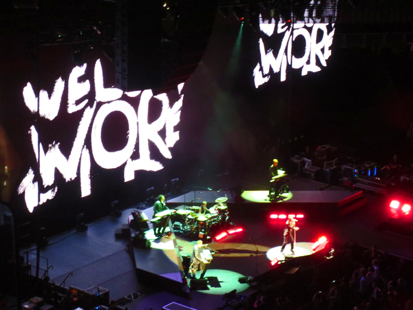 Depeche Mode Welcome to my World Tour Barclays