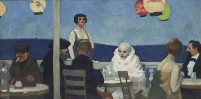Soir-Blue by Edward Hopper
