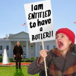 Am I not ENTITLED to have a BUTLER? Free Butlers in the USA