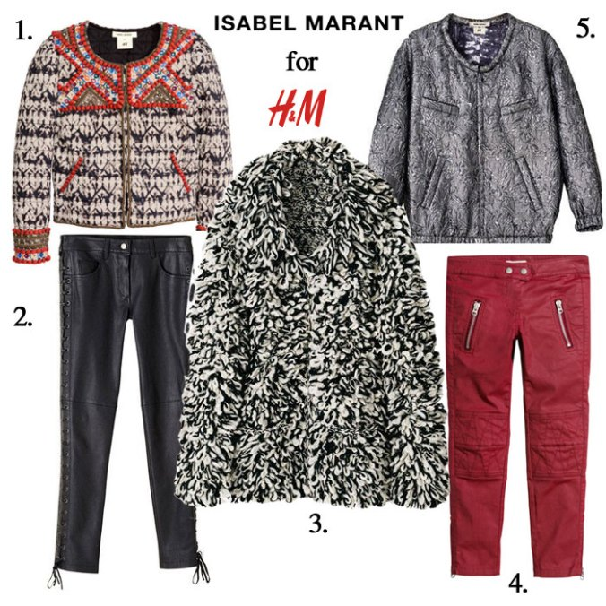 Isabel Mirant for H&M wants must haves board