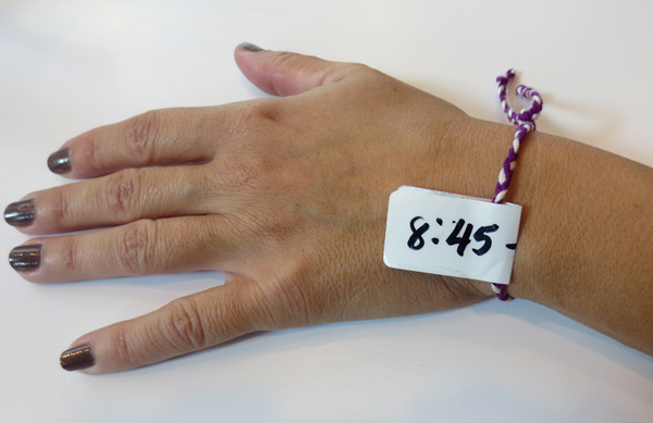 H&M wristband for Isabel Mirant NJ