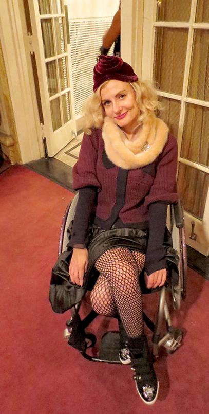 Pretty Cripple at Amanda Palmer Town Hall show
