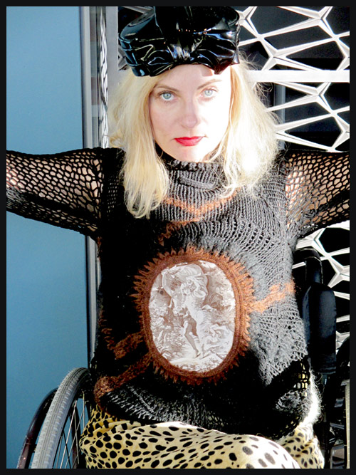 Gaultier-sweater-wheelchair-streetstyle