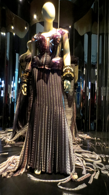 Movie Stars gown Gaultier collection Brooklyn museum
