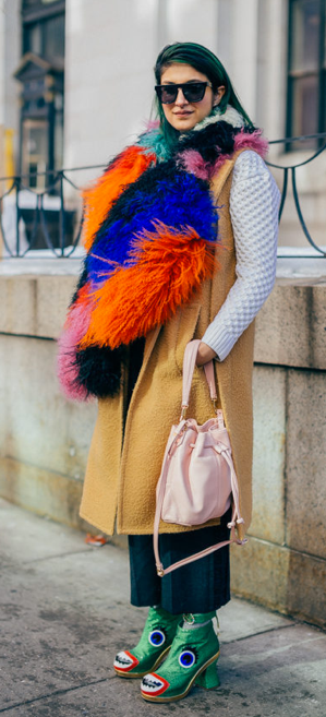 Street style from NYFW fall 2014