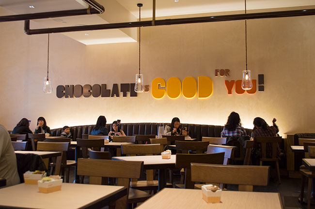chocolate is good for you - Max Brenner NJ