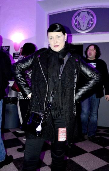 Psychedelic Furs fan in black