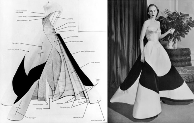 Charles James Clover Leaf Gown Austine Hearst