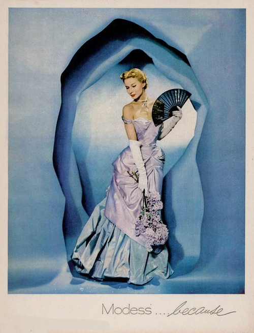 Charles James Modess Ad