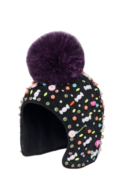 Manish Arora candy pom pom hat