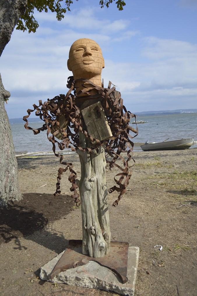James Tyler Haverstraw RiverArts Sculpture on the Hudson River.