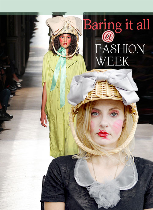 Vivienne Westwood in Paris Fashion Show for Spring 2015