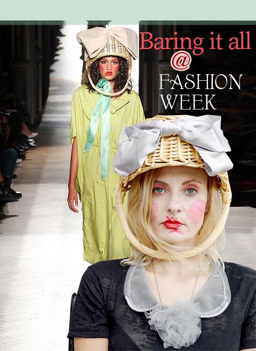 Vivienne Westwood in Paris Fashion Show for Spring 2015
