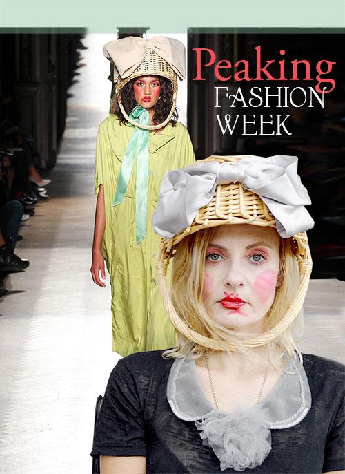 Peaking Fashion Week with Vivienne Westwood