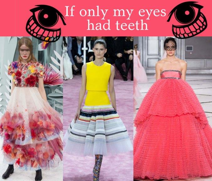 Couture gowns Paris fashion week 2015