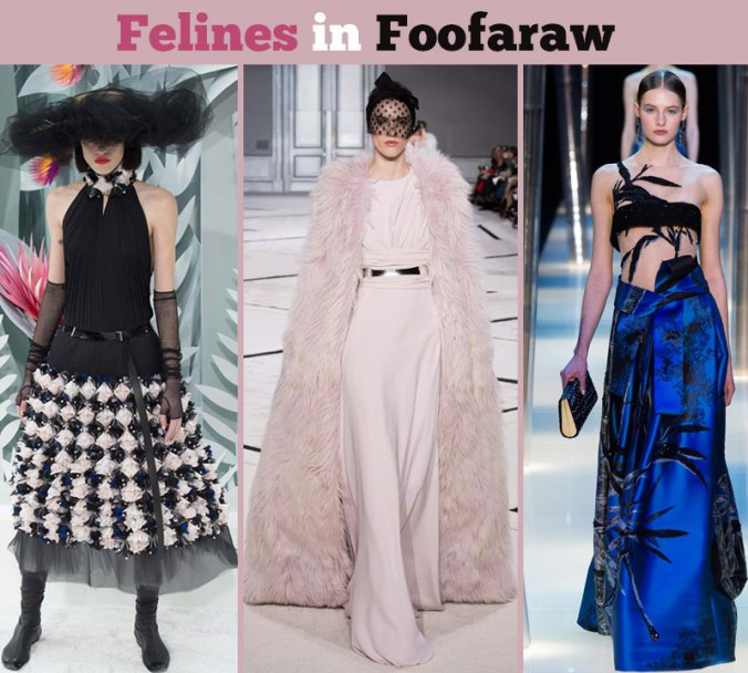 Couture gowns from Couture fashion week in Paris 2015