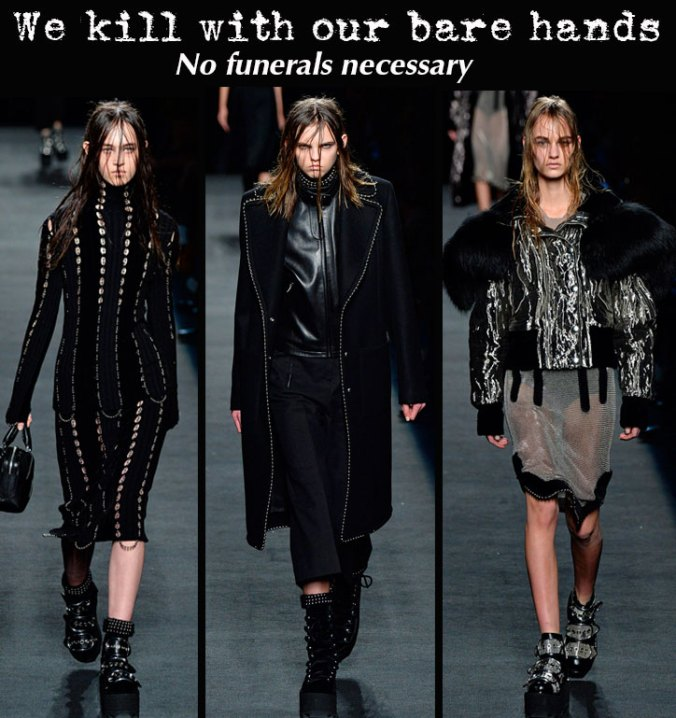 Alexander Wang NY Fashion Week 2015