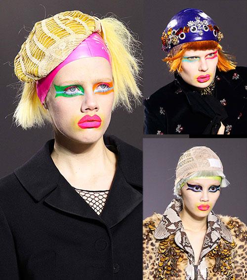 Maison Margiela models from Paris Fashion Week March 2015