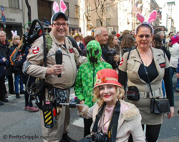 NYC hat parade ghostbusters