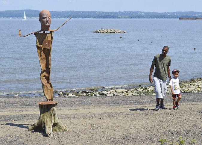 James Tyler sculpture Emeline Park NY.