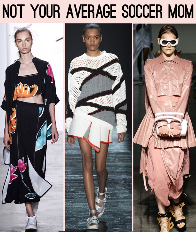 sporty trend for spring 2016 from NY Fashion Week