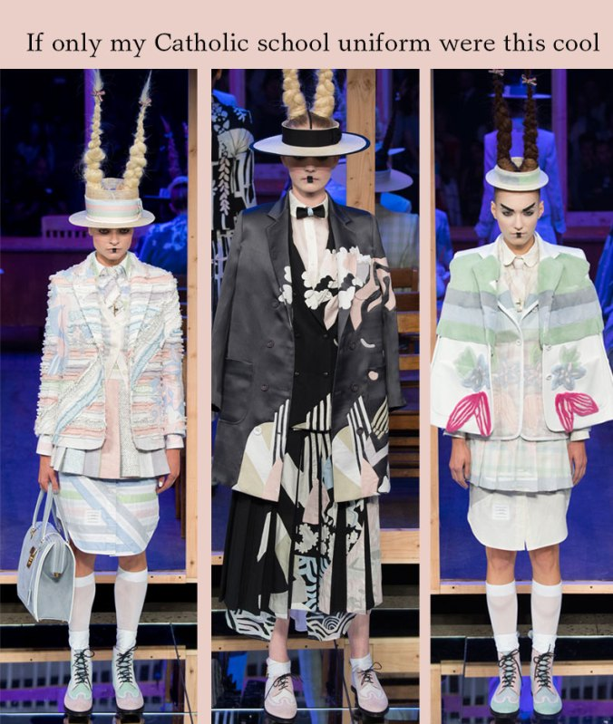 Thom Browne spring 2016 NY fashion week collection