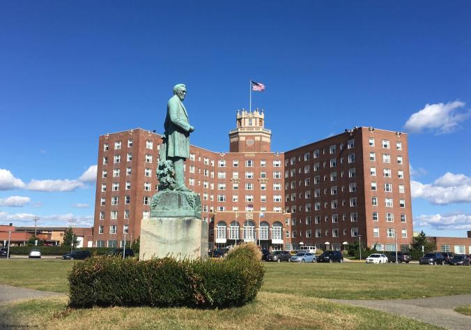 The Berkeley Hotel Asbury Park, NJ - a historic seaside hotel.