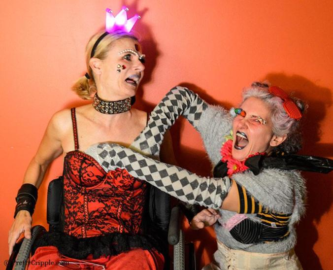 wheelchair disabled cabaret act NY