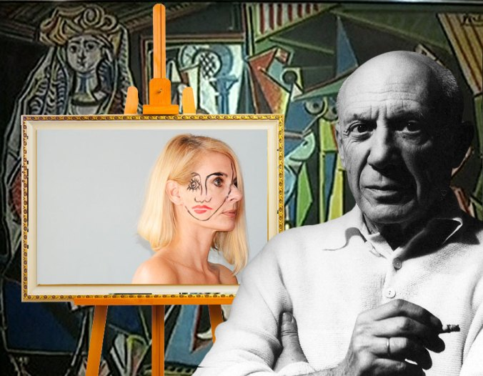Pablo Picasso came back from the dead and made me his muse.