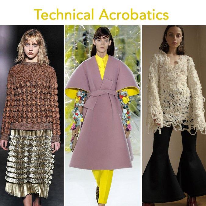Technical Acrobatics at NY fashion week