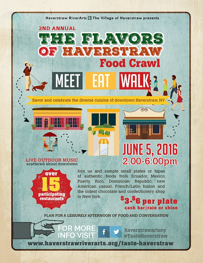 Taste of Haverstraw Food Crawl - June 5th 2016 - Food Tour NY