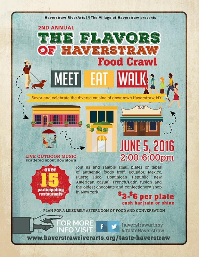 Taste of Haverstraw Food Crawl - June 5th 2016 - Food Tour NY