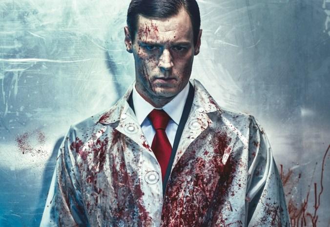 Benjamin Walker in American Psycho on Broadway in VOGUE