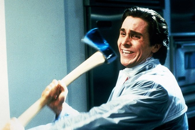 Christian Bale as Patrick Bateman in American Psycho