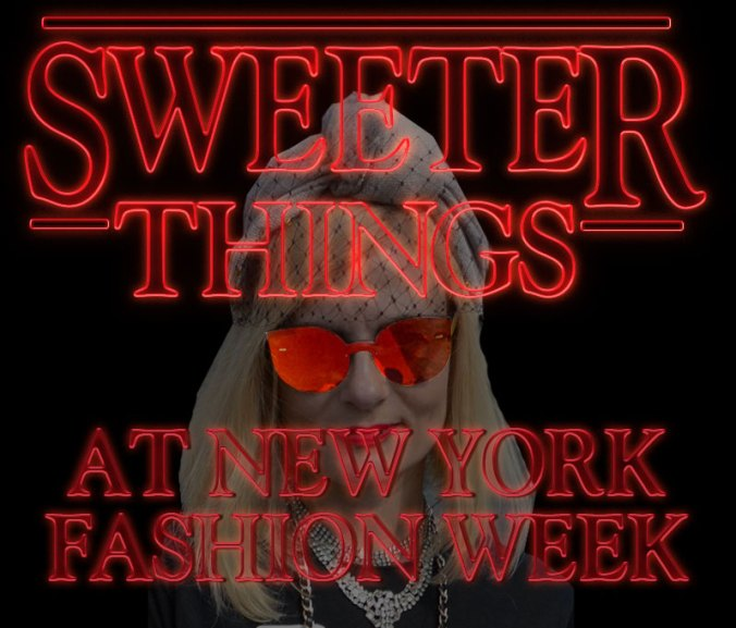 Sweeter things NYFW header