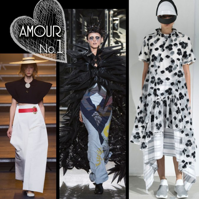 Spring 17 fashion by Jacquemus, Junya Watanabe and Anrealage