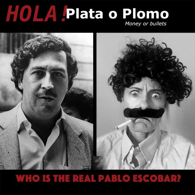Pablo escobar halloween costume