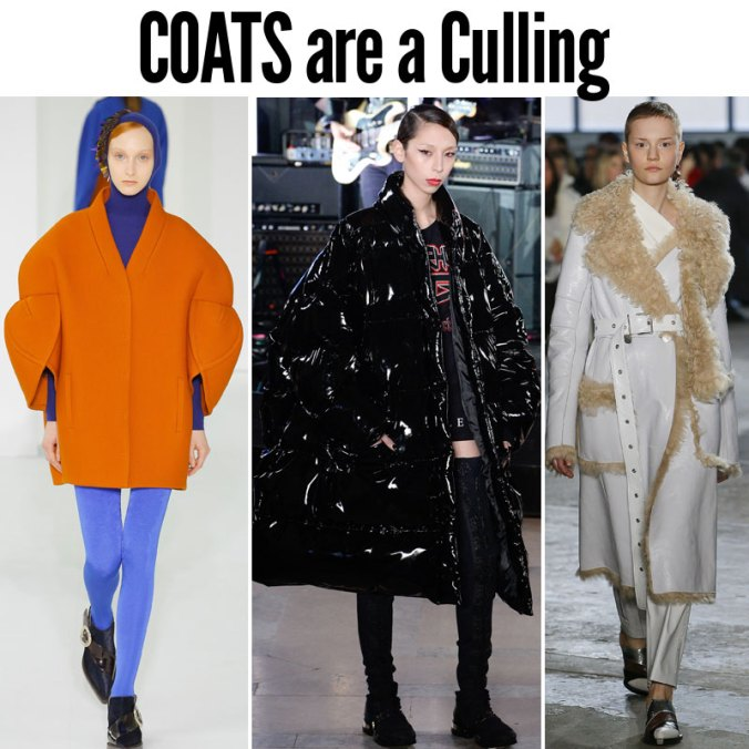 Coat trends for Fall 2017