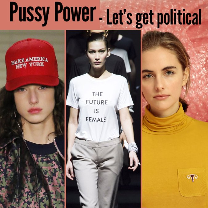 feminist & political fashion 2017
