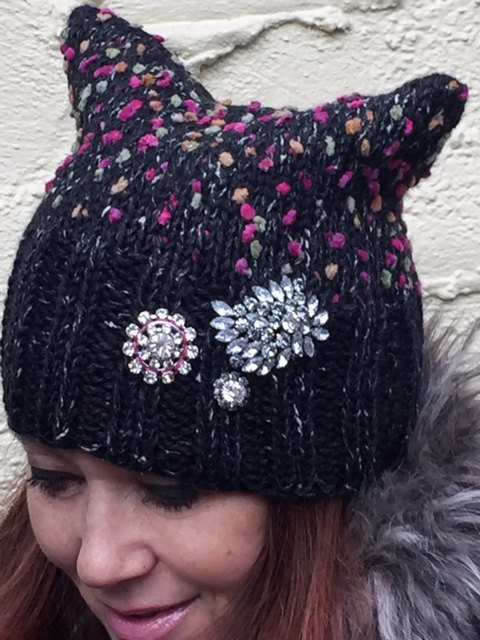 Jamie Kreitman PussyHat in tweed