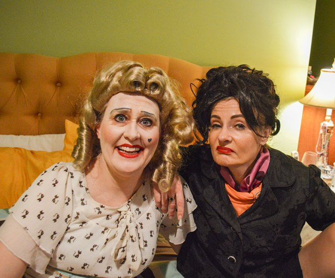 Whatever Happened to Baby Jane parody impersonators
