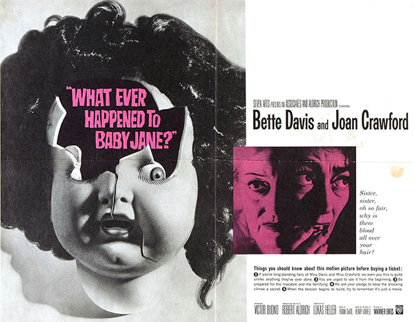 Whatever happened to babyjane movie poster